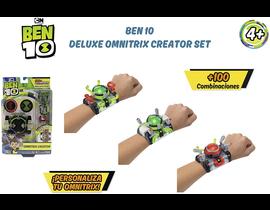 RELOJ BEN 10 - DELUXE OMNITRIX CREATOR SET