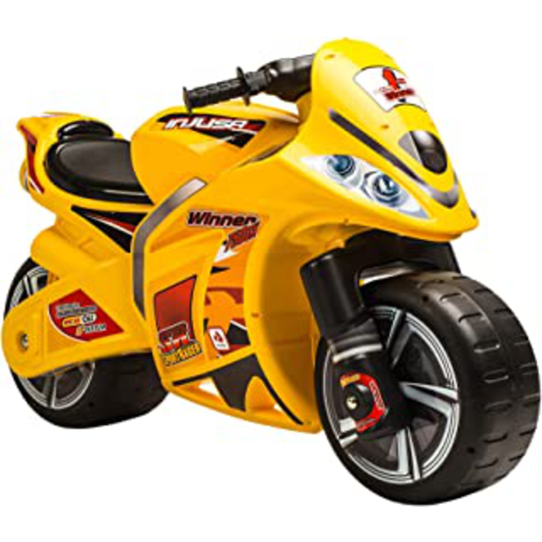 MOTO SIN BATERIA amarillo