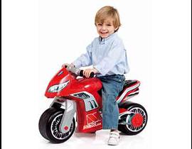 MOTO INYECTION CROSS rojo 12223