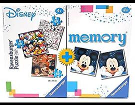 MULTIPACK DISNEY: Puzzle 2*49 + MEMORY