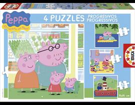 PROGRESIVOS PEPPA PIG 6-9-12-16