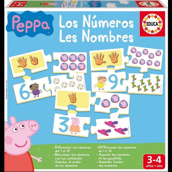 APRENDO LOS NÚMEROS PEPPA PIG
