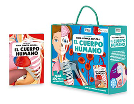 EL CUERPO HUMANO  LIBRO+PUZLE CASTELLANO