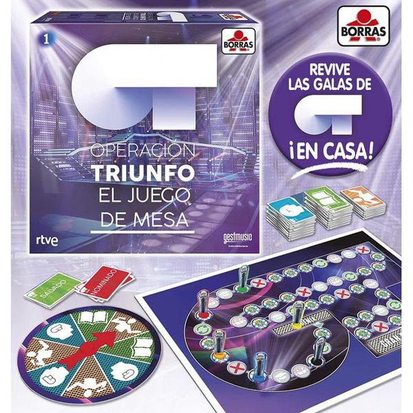 OT, operación triunfo - JUEGO DE MESA