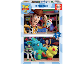 PUZZLES 2X48 TOY STORY 4