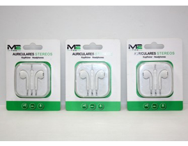 AURICULARES STEREO BLANCO   X6