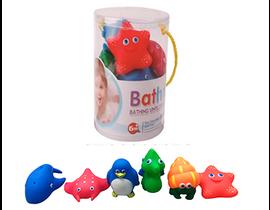 6 ANIMALITOS BAÑO -Bote - 33488