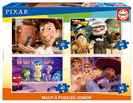 MULTI 4 JUNIOR DISNEY PIXAR 20-40-60-80 (RATATOUIL