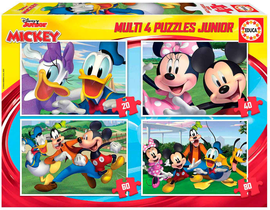 MULTI 4 JUNIOR MICKEY & FRIENDS 20-40-60-80