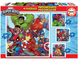 PROGRESIVOS MARVEL SUPER HEROE ADVENTURES 12-16-20