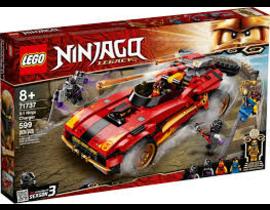 NINJAGO DEPORTIVO NINJA X-1