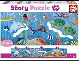 "26 MUNDO SUBMARINO ""STORY PUZZLE"""