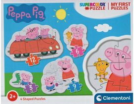 3-6-9-12 MY FIRST PUZZLE PEPPA PIG