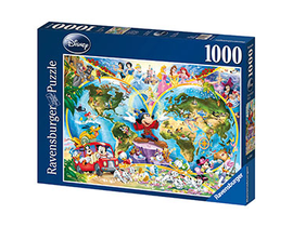 1000 DISNEY MAPAMUNDI