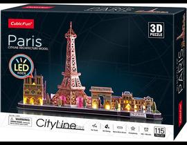 PUZZLE 3D CITY LINE LED: PARIS