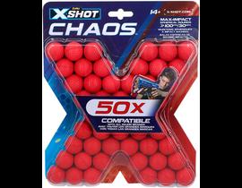 BOLAS 50 unidades PARA X-SHOT PISTOLAS