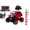 BIG FOOT RC - JEEP WRANGLER - ROJO