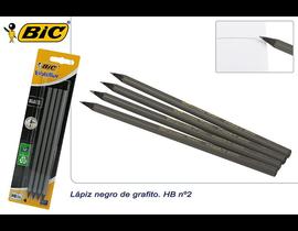 4 LAPICES GRAFITO -BIC-