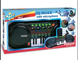 DJ MIXER CON MICRÓFONO
