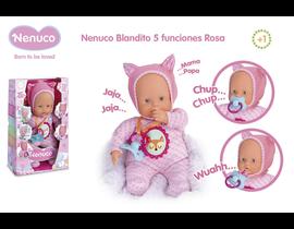 NENUCO BLANDITO 5 FUNCIONES ROSA