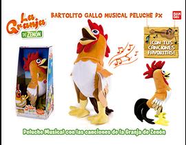 GALLO BARTOLITO MUSICAL -79004